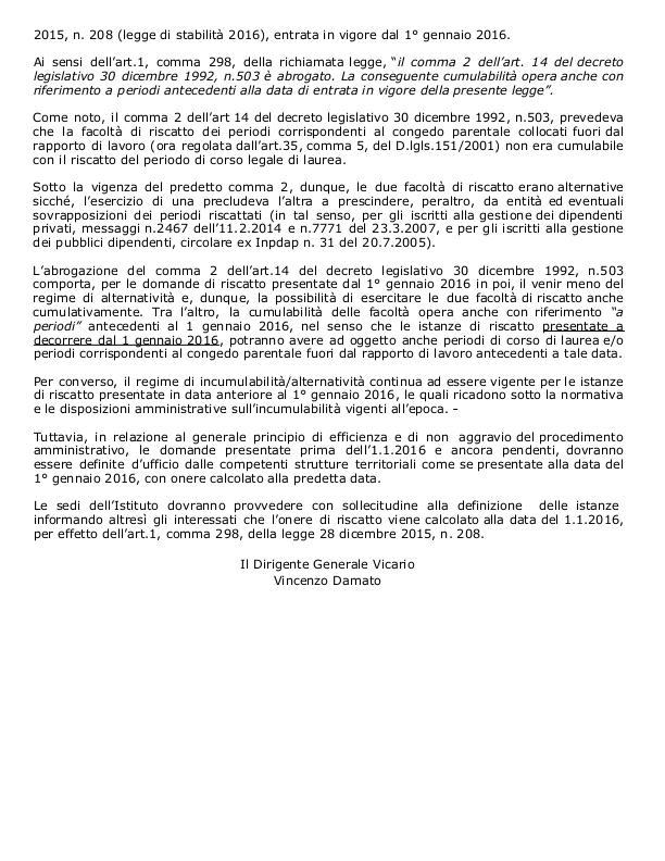 INPS emana circolare Page-2